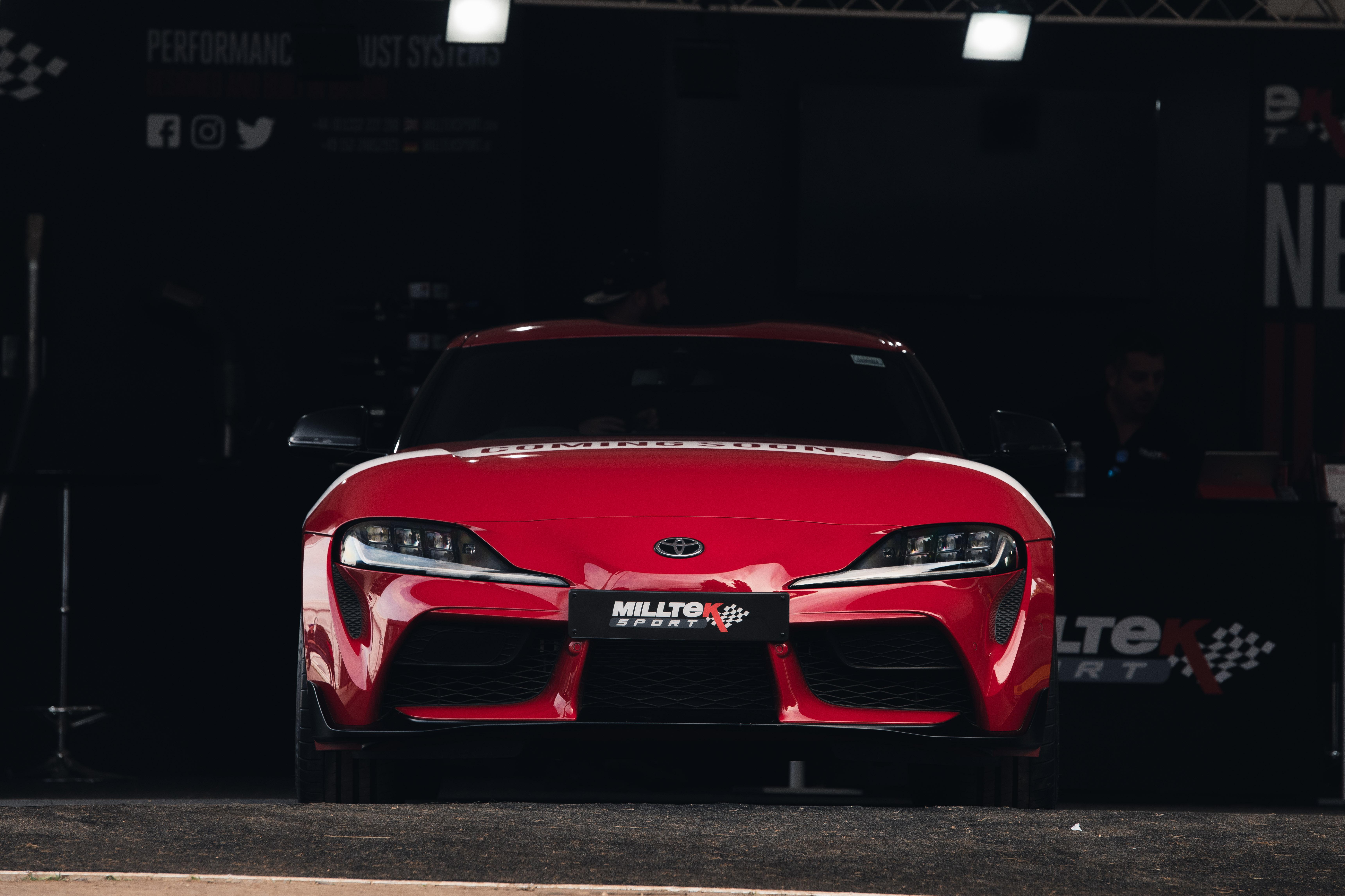 Toyota Supra ft. Milltek Sport