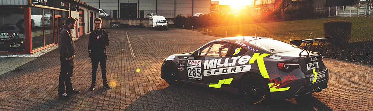 Milltek Sport at VLN in Germany