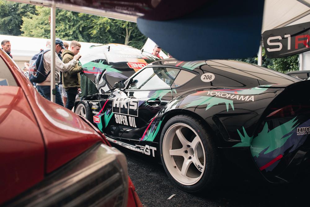 Drift Supra with 2JZ