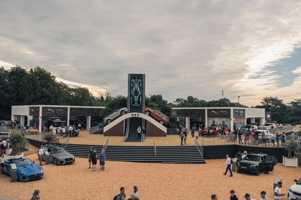 Jaguar Land Rover Stand