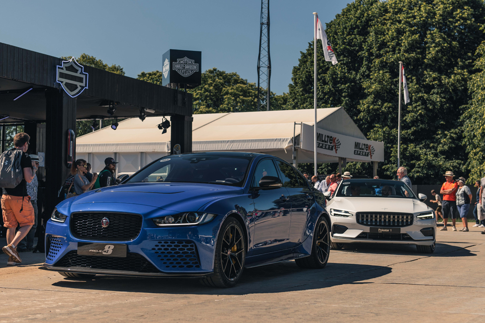 Jaguar Project 8 and Polestar 1