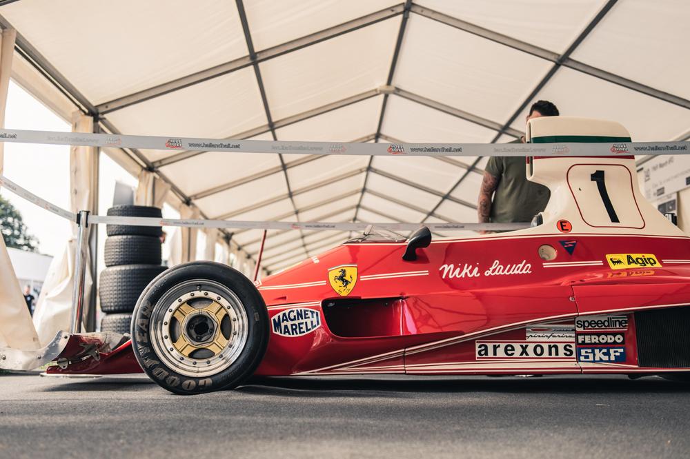 Niki Laudas Ferrari 312 T
