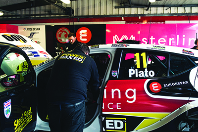 Milltek Sport Returns to BTCC